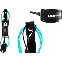 DORSAL Surfboard Leash Premium Surf Sup Dakine (FCS Style) Blue