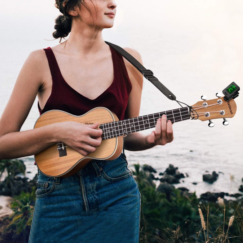 accordatore, corde, borsa, tracolla e plettri MartiSAN Ukulele professionale da concerto da 23 pollici corde Hawaii Aquila con principianti