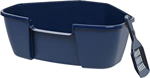 IRIS Open Top Cat Litter Box with Litter Scoop