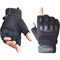 AVITY Guantes de medio dedo, Hard Knuckle Guante
