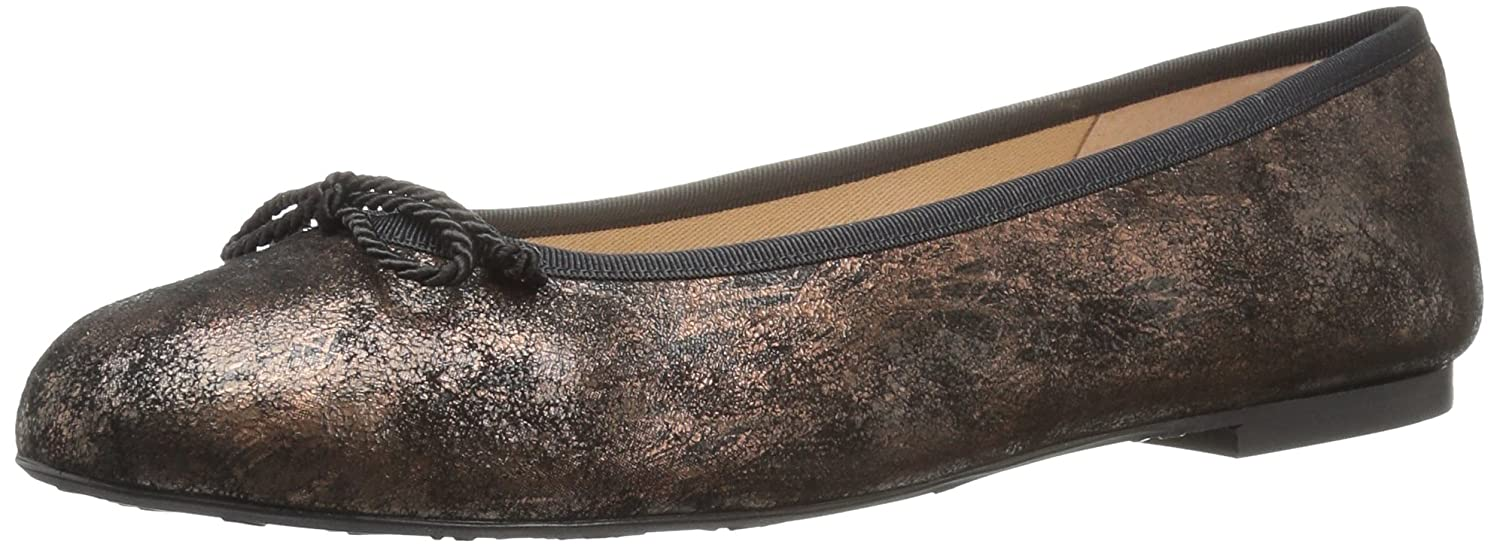 French Sole FS/NY Women's Pearl Ballet Flat B0719DTVWG 11 B(M) US|Bronze