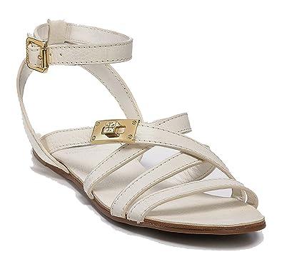"Women's ""Dalcin"" Flat sandals Bleach/White"