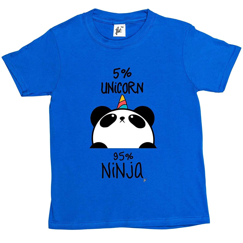 Amazon.com: Spring dog Tee 5% Unicorn 95% Ninja Black ...