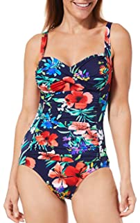 01cbd70dc99 Trimshaper Womens Confetti Megan One Piece Swimsuit at Amazon ...