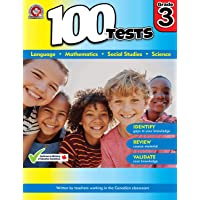 Grade 3 Workbook: Math, Language, Social Studies, Science: 100 Tests workbook covers key curriculum concepts: Written by…