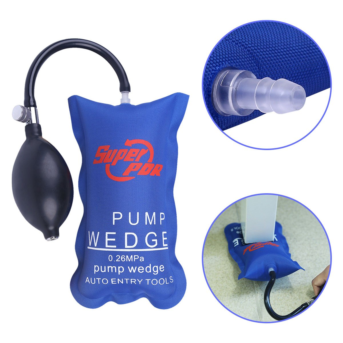 Super PDR 1Pcs Pump Air Wedge Alignment Inflatable Shim Air Cushioned Powerful Hand Tools
