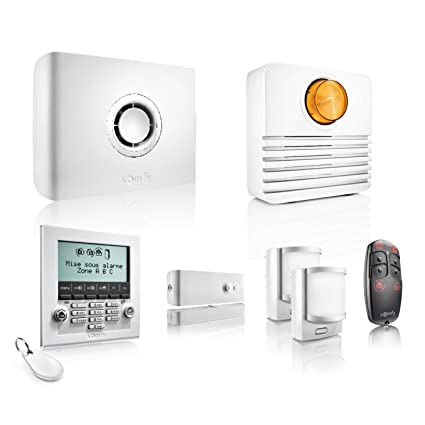 Somfy 2401427 Sistema Inalámbrico de Alarma, Blanco: Amazon ...