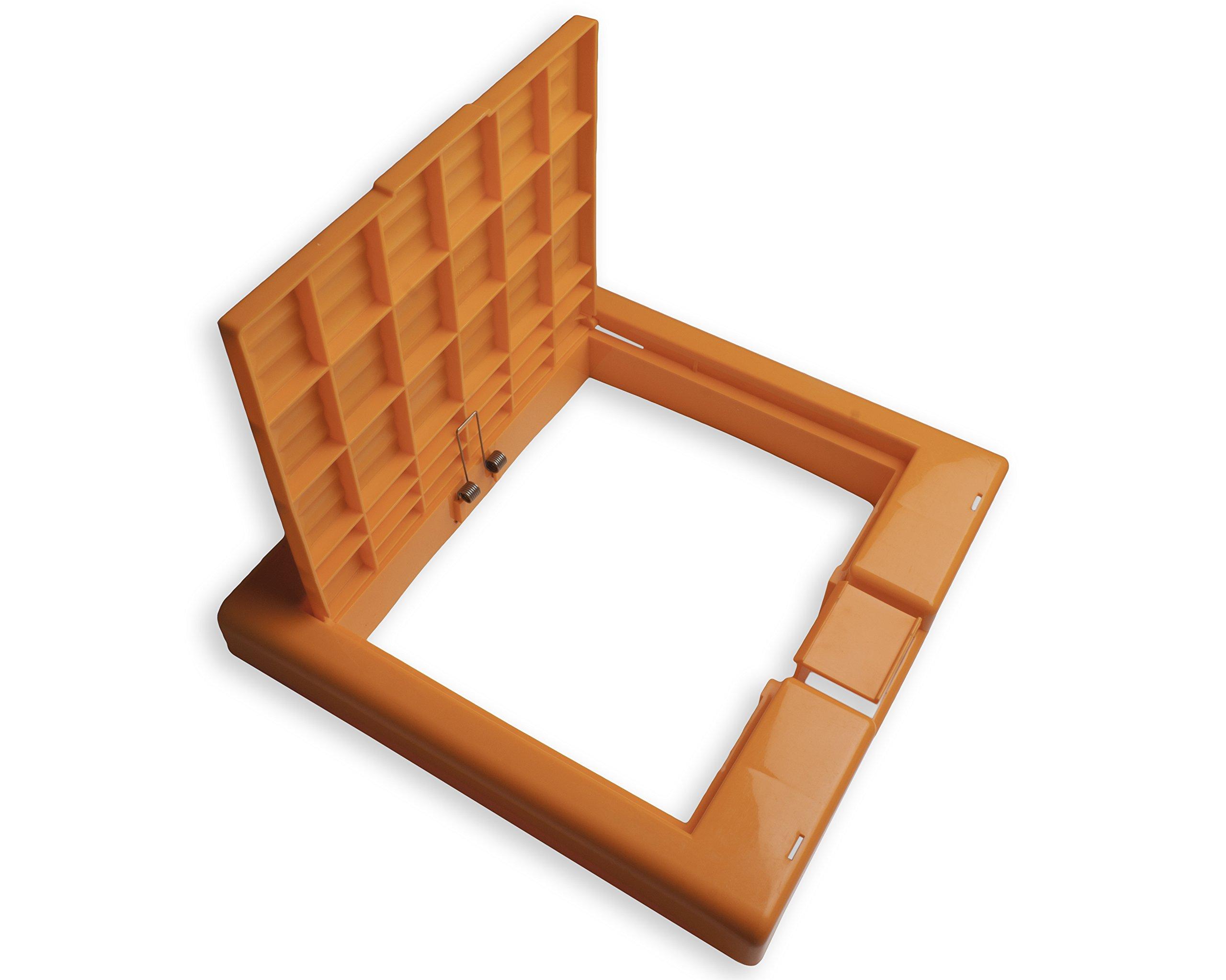 Bel-Art Clavies Orange Biohazard Bag Holder Cover for F13192-0002 and F13192-0003 (F13192-0102)