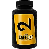 DUAL Pro CAFFEINE   Caféine Pure  120 Capsules Végétaliennes   Sans Lactose ni Gluten   4 Mois d'Approvisionnement   Pour Tout le Monde, Surtout pour Athlètes   200 mg de Caféine par Capsule   UE