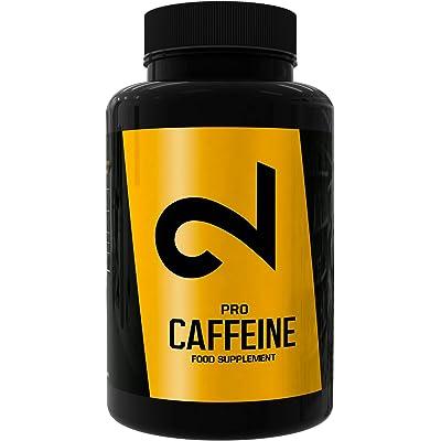 Dual Pro Caffeine | Paquete De Prueba | Cafeína 100% pura | Calidad superior: certificado en el laboratorio | Cápsulas de cafeína | Tabletas de cafeína dosis altas | 20 cápsulas | Vegano y Sin Gluten