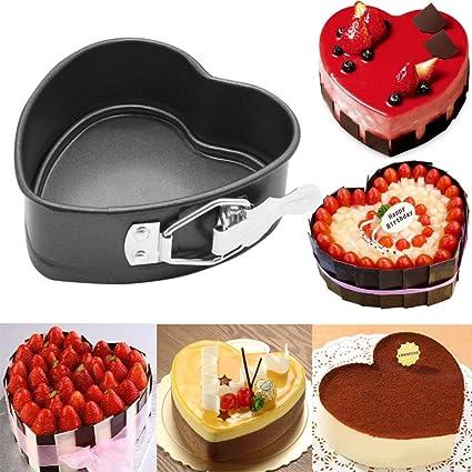 Amazon Com Leoy88 Wedding Decorating Baking Tool Heart Shaped Cake