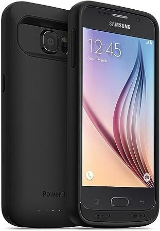 PowerBear Funda de Batería Compatible para Samsung Galaxy S6 ...