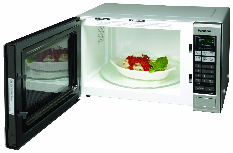 Panasonic Kitchen Appliances Amazoncom Panasonic Nn Sn661s Countertop Microwave Oven With