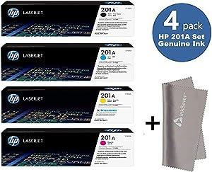 HP 201A BCYM l Laserjet Toner Cartridge Set CF400A, CF401A, CF402A, CF403A- for hp Laserjet M277/ MFP M277dw/ Laserjet Pro M252
