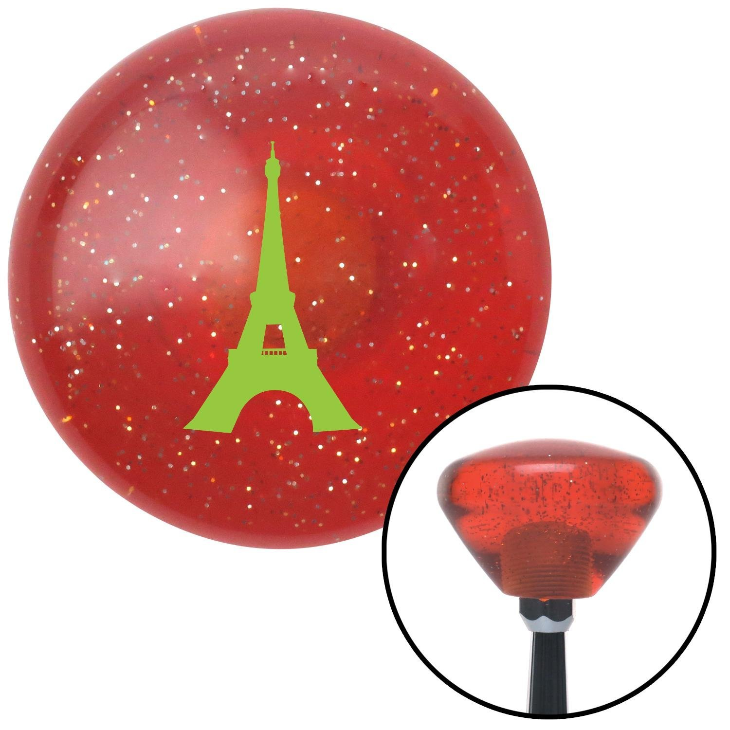 Pink Chief Master Sergeant American Shifter 246135 Blue Flame Metal Flake Shift Knob with M16 x 1.5 Insert