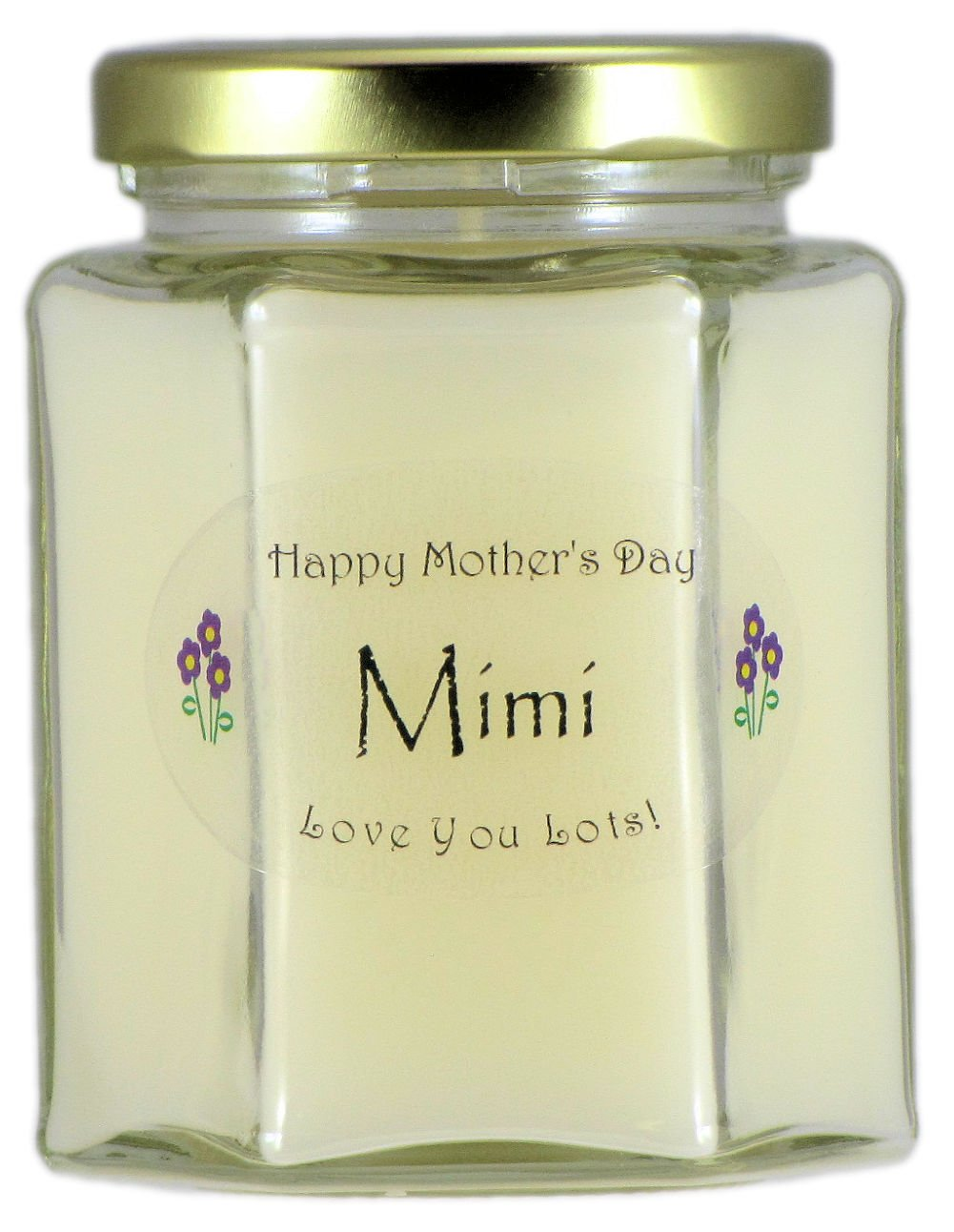 Lilac Scented Mothers Day Gift Candle Just Makes Scents Mimi Mothers Day Candle Hand Poured In