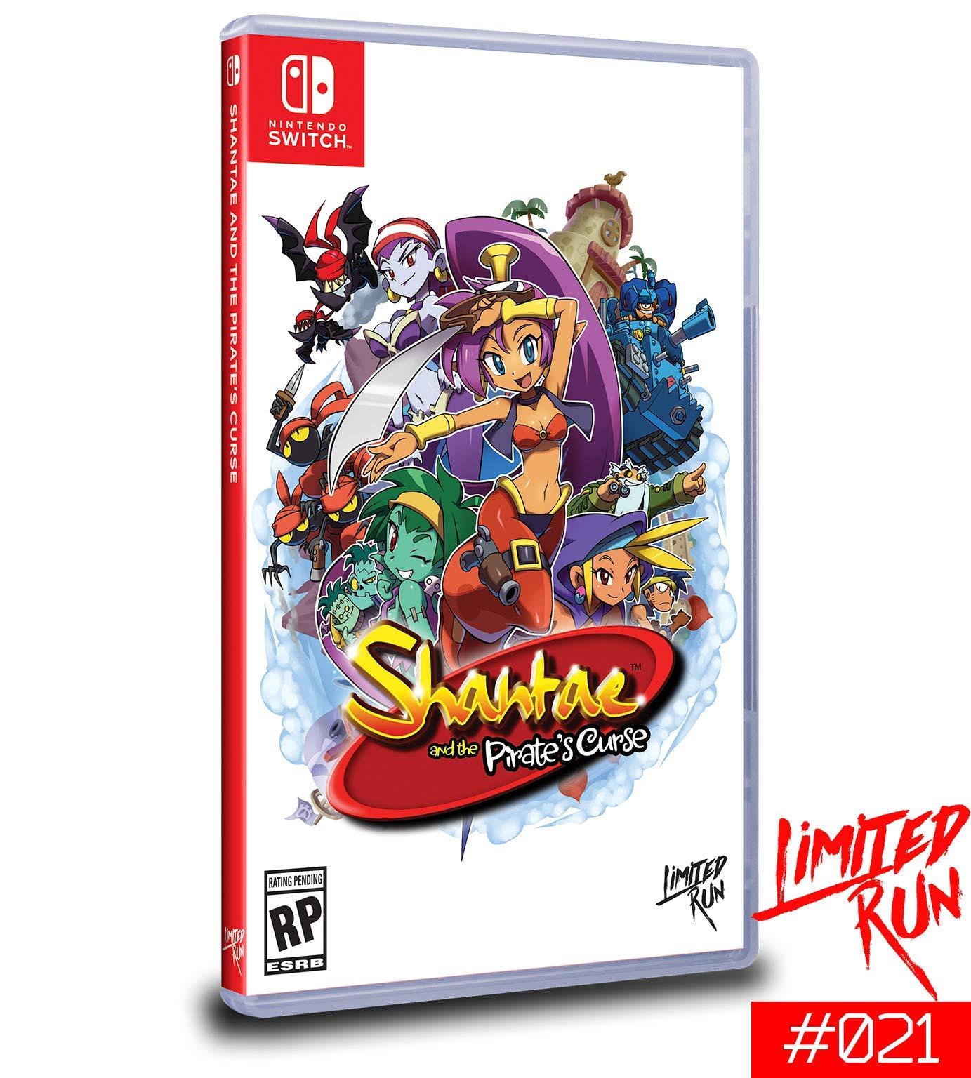Amazon.com: Shantae and the Pirates Curse - Nintendo Switch ...
