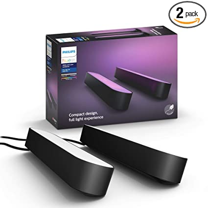 Amazon.com: Philips Hue 7820330U7_2 Hue Play Bar ...