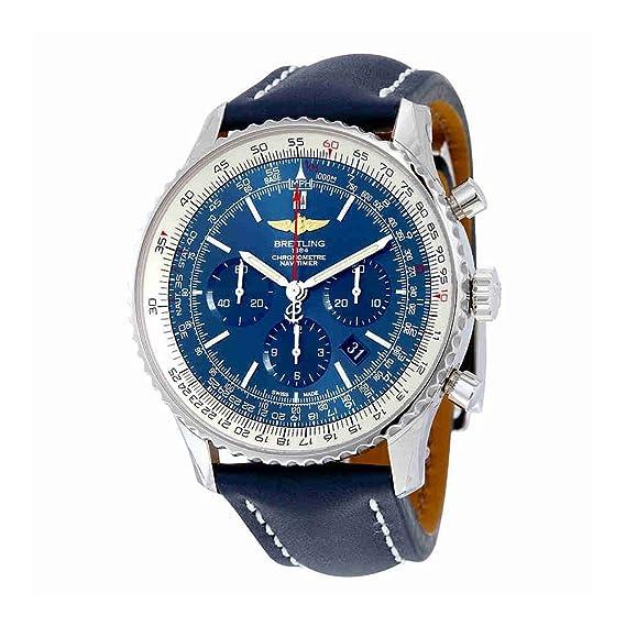 Breitling Navitimer 01 Cronógrafo Automático Mens Reloj ab012721-c889blld