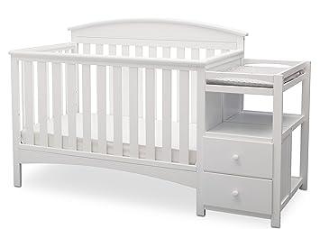 Merveilleux Delta Children Abby Convertible Crib U0027Nu0027 Changer, Bianca