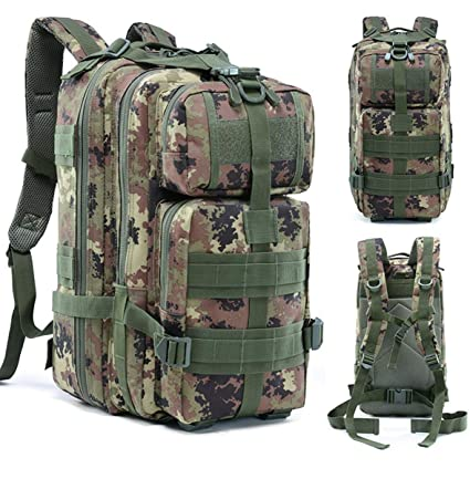 1a0f9634b262 Amazon.com: AHWZ Camouflage Bag Sports Backpack Outdoor Camouflage ...
