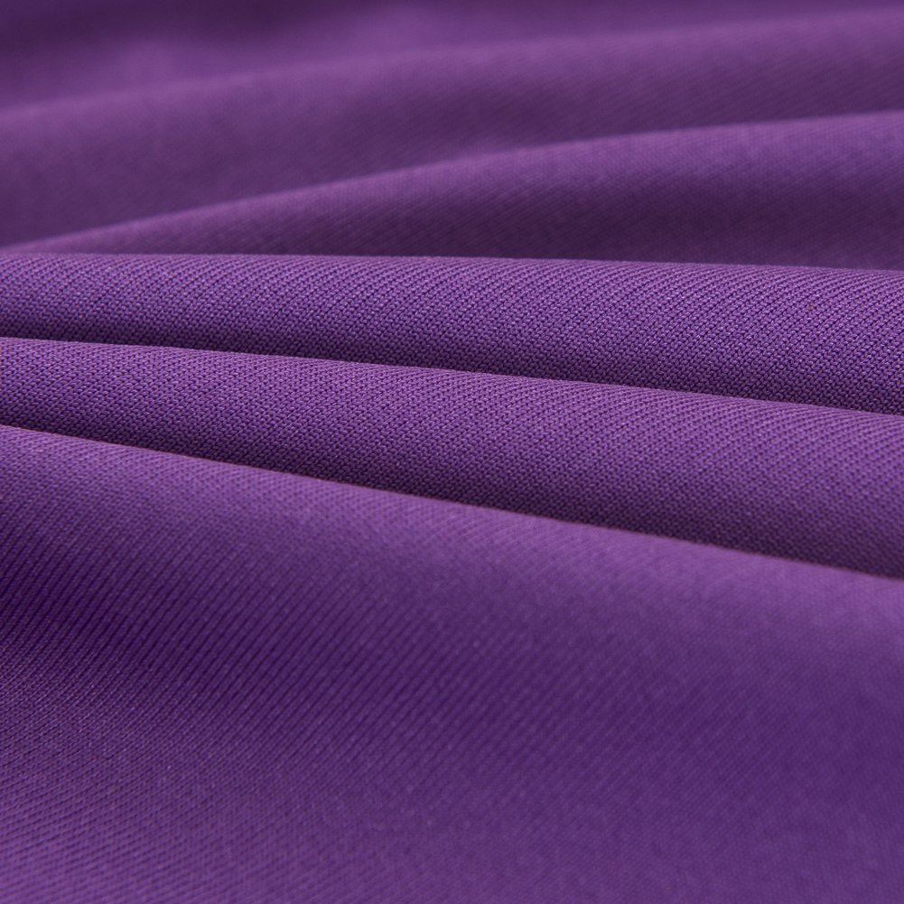 Vipeco Slipcover Stretchable Pure Color Sofa Cushion Covers (Loveseat Purple) by Vipeco (Image #8)