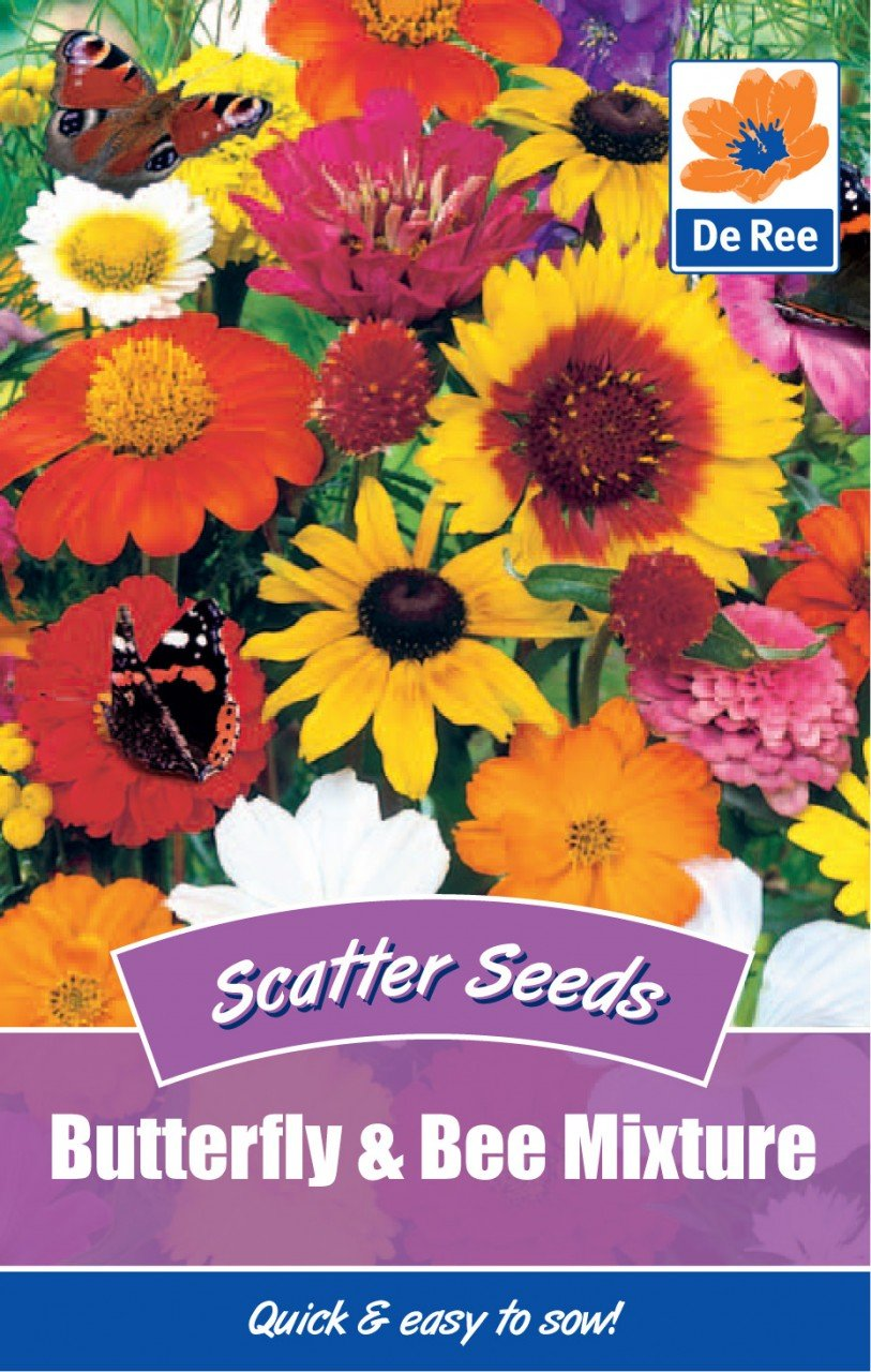 Butterfly & Bee Mixture Bulbs and Seeds Direct