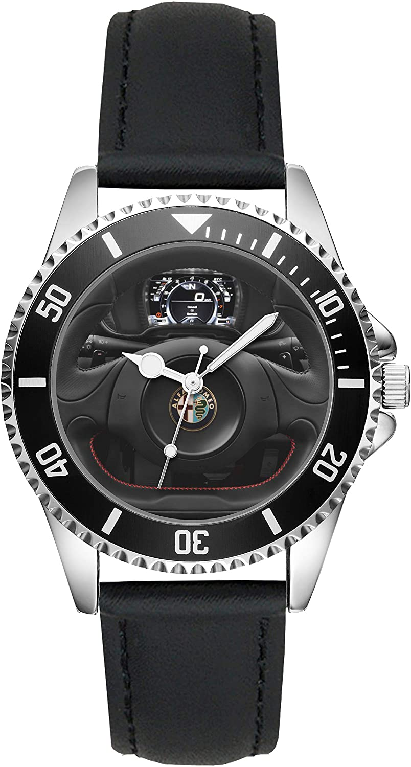 Gifts for Alfa Romeo 4C Fans Driver Kiesenberg Watch L-20642