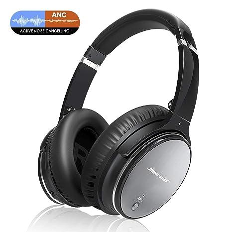 36bbe970c46346 Cuffie Bluetooth Wireless Riduzione del Rumore - Portatile Universali  Headphones e Cancellazione del Rumore, Qualità