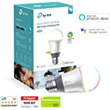 TP-Link Multicolour Smart Wi-Fi LED Bulb, Dimmable, Tuneable White, No Hub Required, 60W Equivalent, Works with Amazon Alexa and Google Assistant, 1-Pack (LB130)