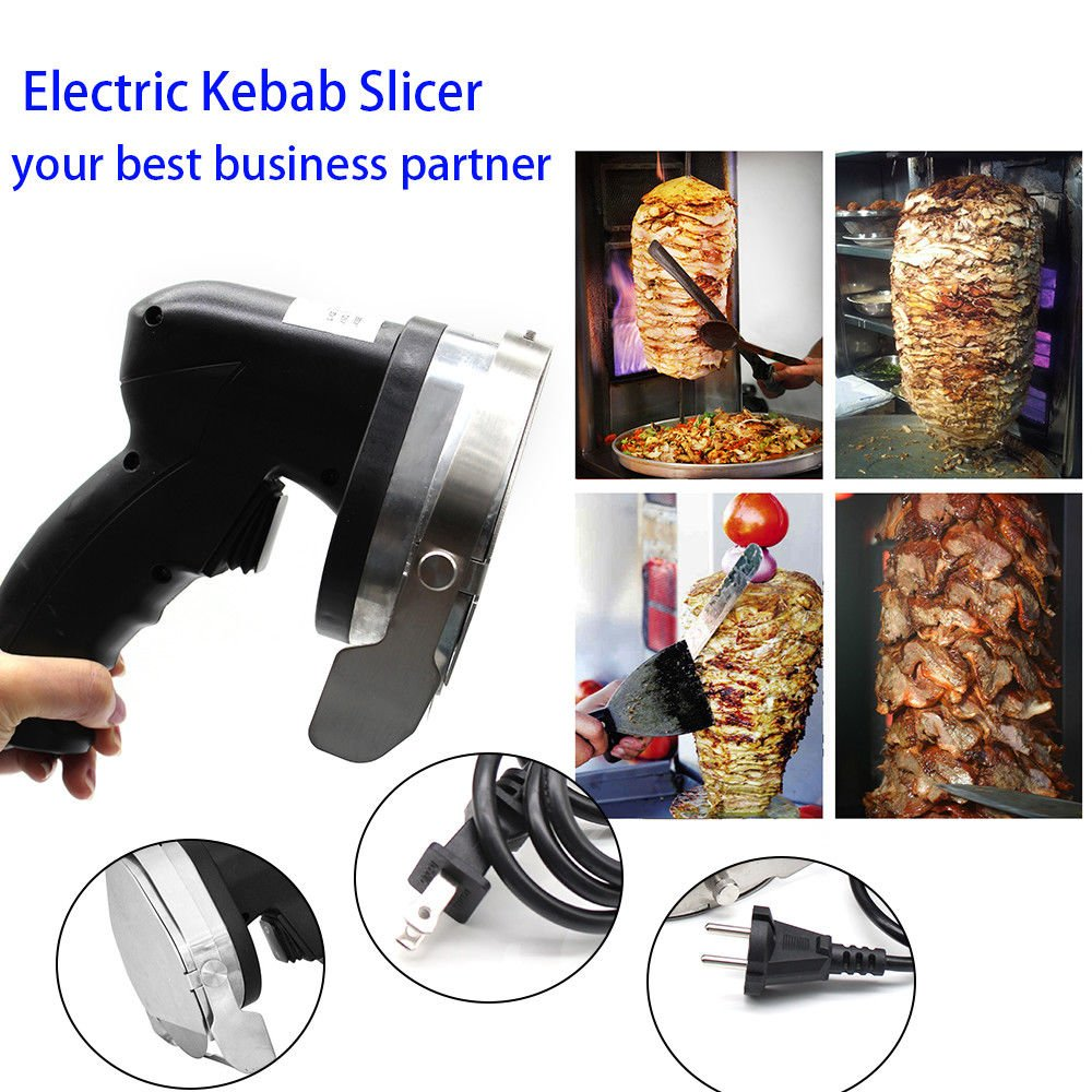 Professional Electric Shawarma Cutter Slicer Knife Gyro Doner Kebab 110V Ship From US by TFCFL (Image #6)