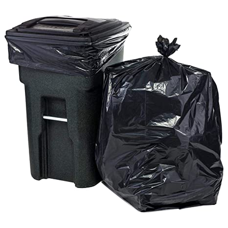 Trash Duty For Students With Special >> Amazon Com Plasticplace 95 96 Gallon Garbage Can Liners 2 Mil