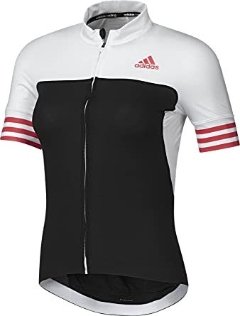 Adidas Women s Cycling Jersey Adistar CD Zero 3 Short Sleeve - Black White f25ac8576