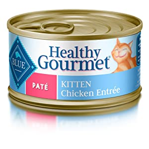 Blue Buffalo Healthy Gourmet Pate Kitten Food