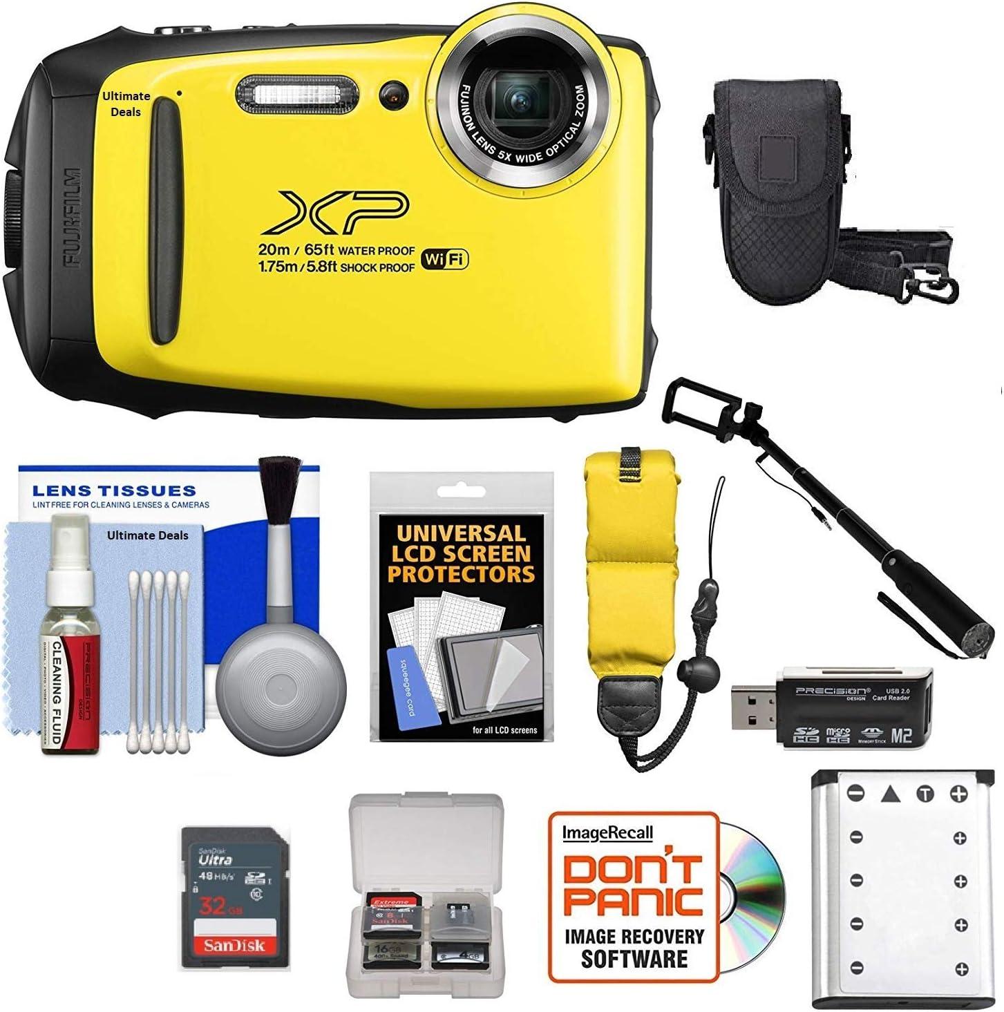 + + Cámara Fujifilm X serie XP120 cámara de 16.4MP Hacer oferta Amarillo