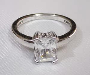 Ring Chinese Dahab white size 8