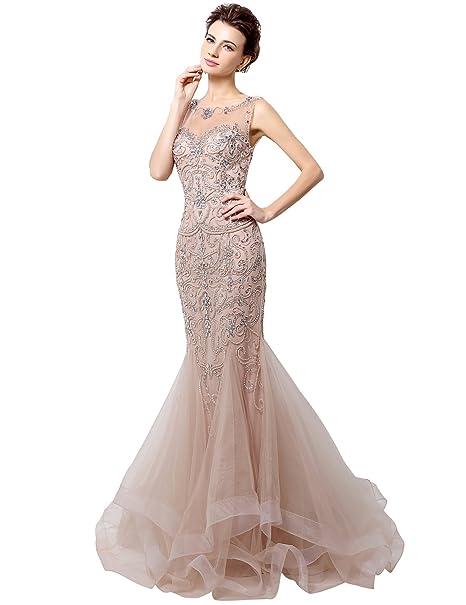 Tulle Mermaid Prom Dress