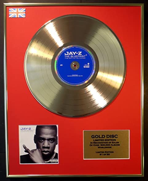 Amazon jay z cd gold disc record limited editionthe blueprint jay z cd gold disc record limited editionthe blueprint 2 malvernweather Gallery