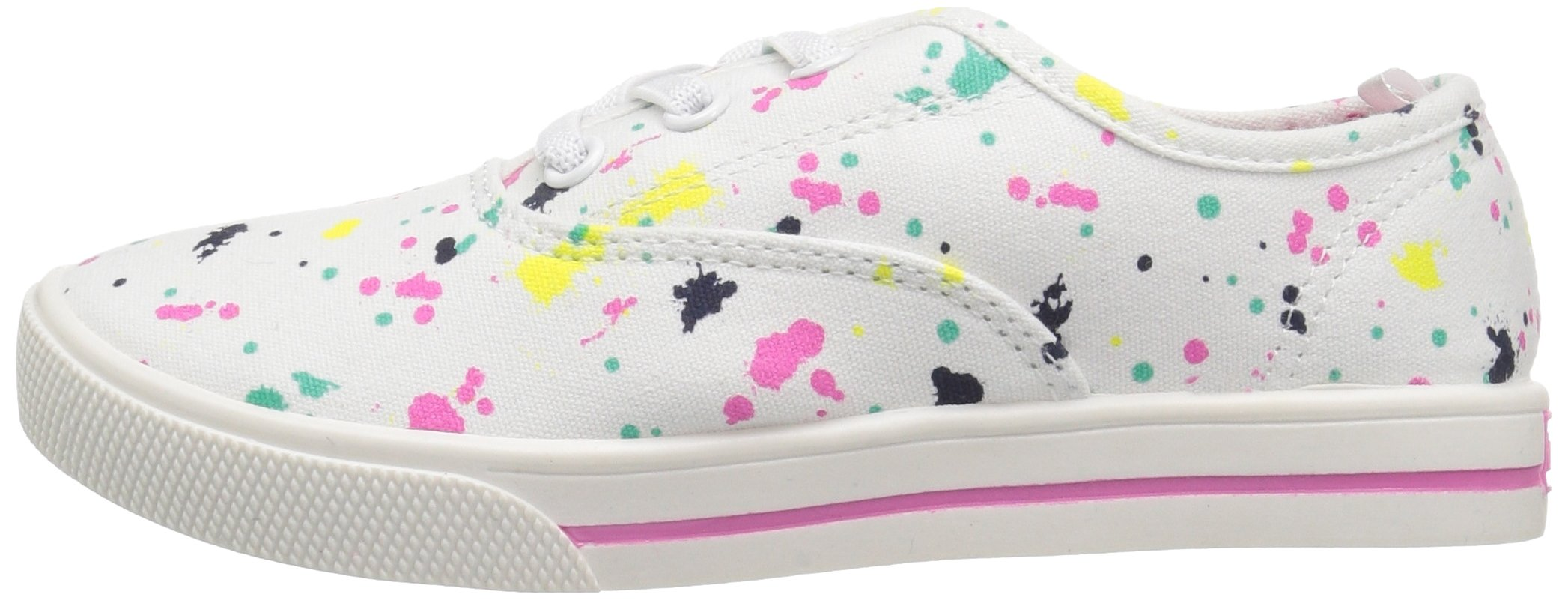 Carter's Piper Girl's Casual Sneaker, White/Print, 3 M US Little Kid by Carter's (Image #5)