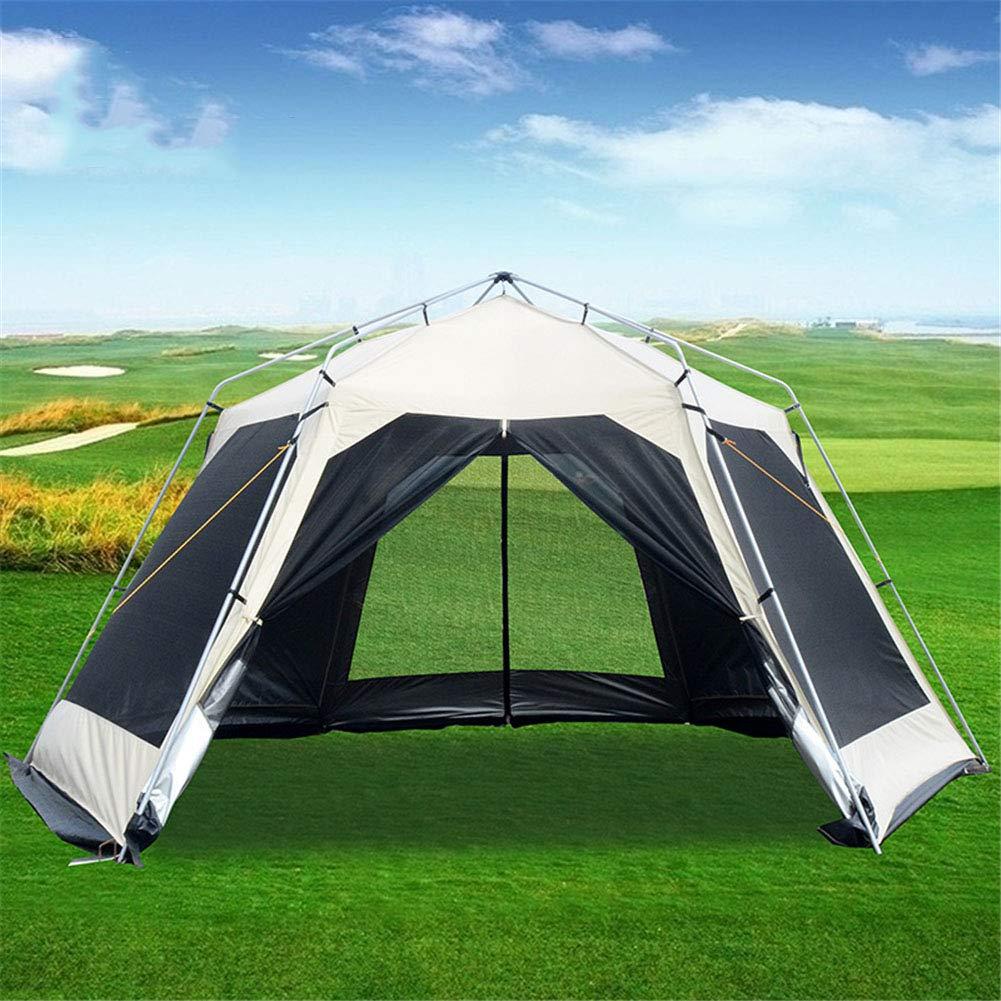 Zelt, Gute Qualität der Familienreise-Zelte 8-12 Personen Ventilated Anti UV-Camping Portable OverGrößed Zelt