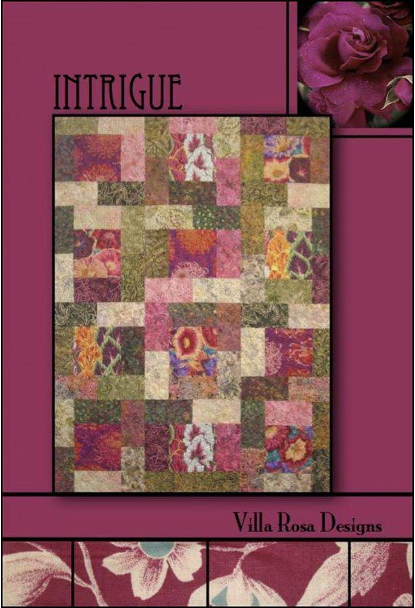 Villa Rosa Designs Magic Show pieced quilt mini PATTERN PATTERN