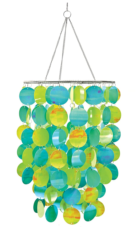 Amazon wallpops wpc0330 105 inch diameter pearl blue green amazon wallpops wpc0330 105 inch diameter pearl blue green chandelier home improvement arubaitofo Images