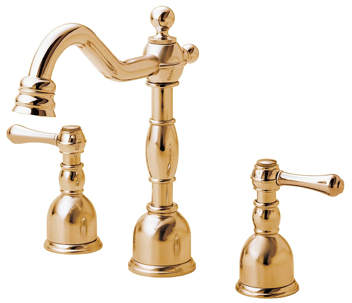 Danze D303057PBV Opulence Two Handle Mini Widespread Lavatory Faucet, Polished  Brass PBV   Touch On Bathroom Sink Faucets   Amazon.com