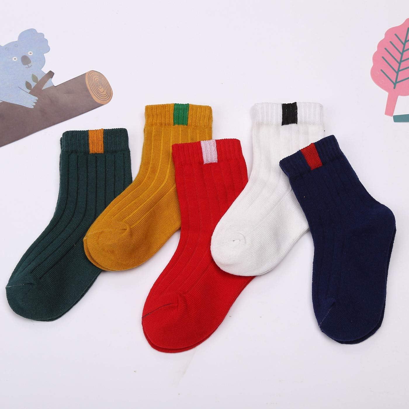 HAPPY CHERRY Boys Calf Socks Multicolour Mehrfarbig 3 1-3 Age