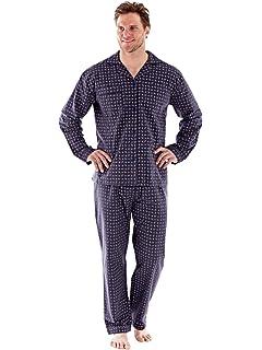 7dbe77f1be4 Coton 100 % brossé de mens PAISLEY flanelle Pyjamas chemise de nuit robes M  - XXL
