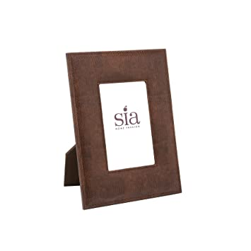 Cornice Sia Home Fashion.Sia Home Fashion In Finta Pelle Lezard Cornice Per Foto 18 X