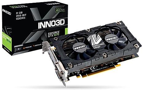 Inno3D N1070-2SDV-P5DS - Tarjeta gráfica (GeForce GTX 1070 ...