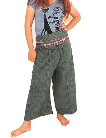 Amazon.com: Unisex pantalones de masaje tailandés Fir ...
