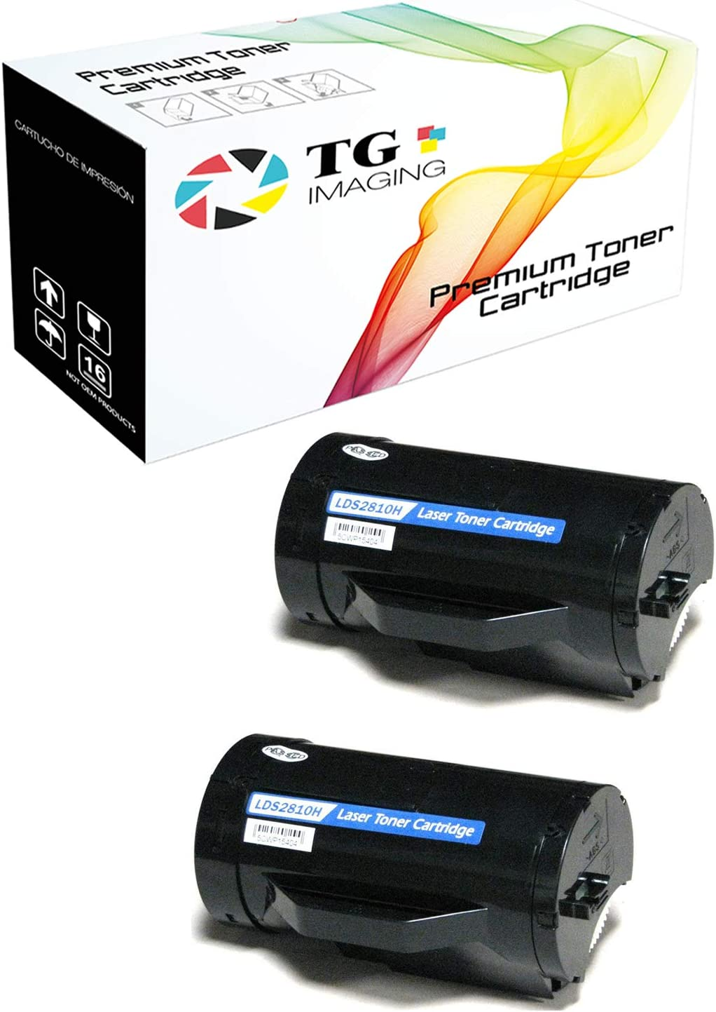 3PK S2810X 593-BBMF 47GMH Toner Cartridge For Dell Smart S2810dn S2815dn H815dw