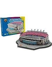 NANOSTAD Estadio Camp NOU (FC Barcelona) Puzzle 3D (Producto Oficial Licenciado)